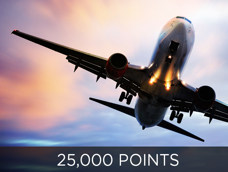 Travel Farther - 25,000 points