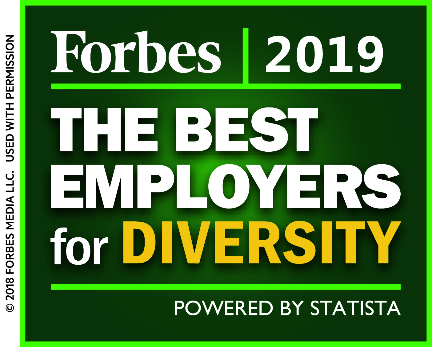 Forbes America's Best Employers for Diversity