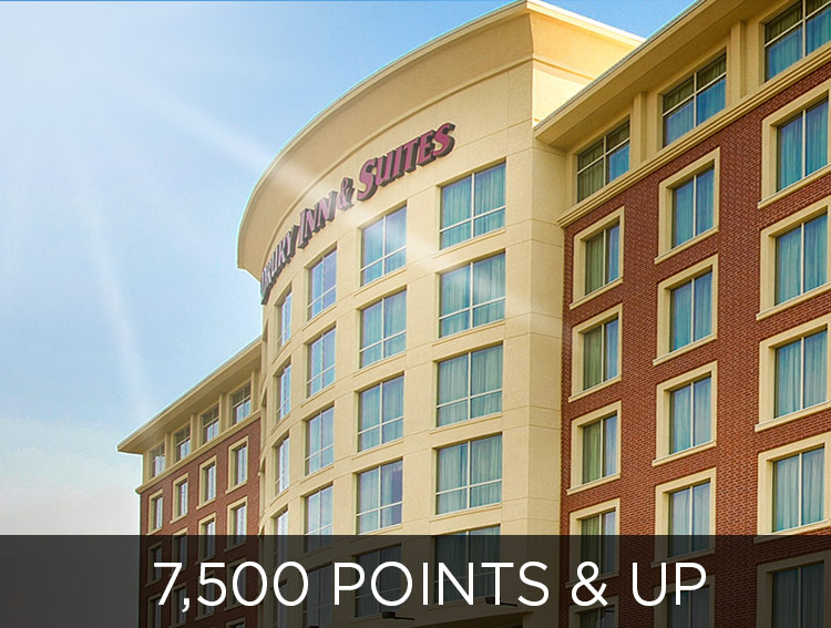 Stay for Free - 7500 points and up