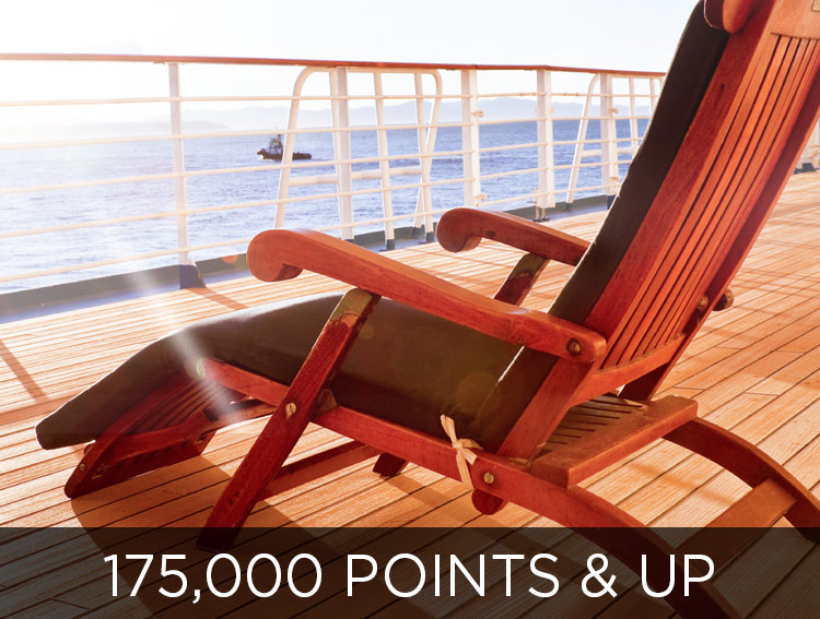 Take a Cruise - 175,000 points and up