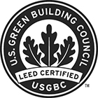 LEED® Certified by the U.S. Green Building Council