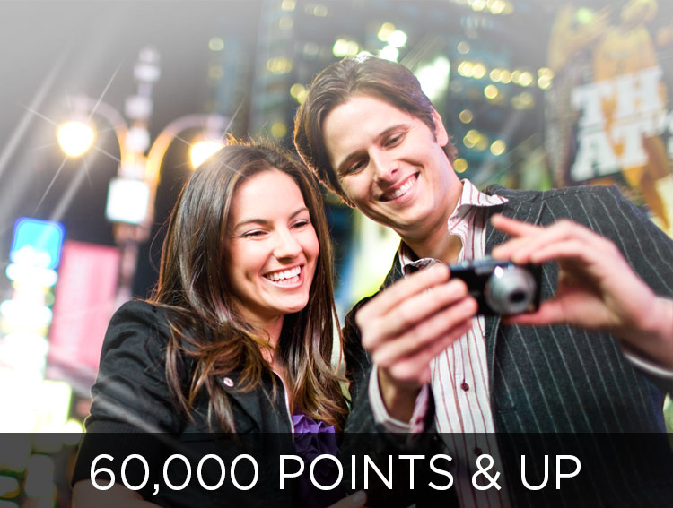 Explore More Places - 60,000 points and up